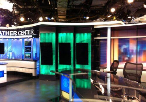 CBS News Set
