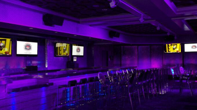 BRICKBLASTER Pro RGBW Track Fixtures Illuminate Caesar's Palace Casino